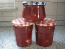 Erdbeermarmelade mit weißer Schokolade - Rezept