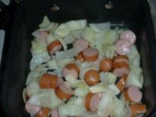 Gnocci mit Curry-Erbsen - Rezept