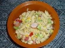 Schneller Nudelsalat - Rezept