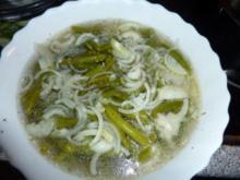Salate: Bohnen süß-sauer - Rezept