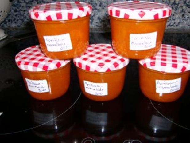 Aprikosen-Marmelade - Rezept - Bild Nr. 2