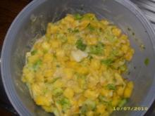 Mango-Lauch-Salat - Rezept