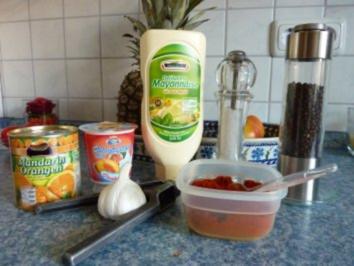 Süß-scharfer Knoblauchdip - Rezept