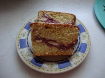 Kastenkuchen mit Biskotten  (Schüttelkuchen) - Rezept