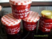 Konfitüre & Co:  Erdbeer-Rote Johannisbeere - Rezept