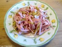 Bayerischer Leberkäs-Salat - Rezept