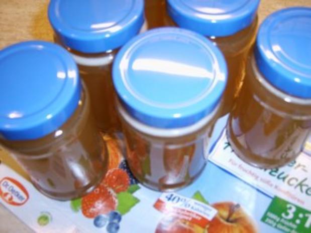 Holunderblütengelee mit Apfelsaft - Rezept - Bild Nr. 4