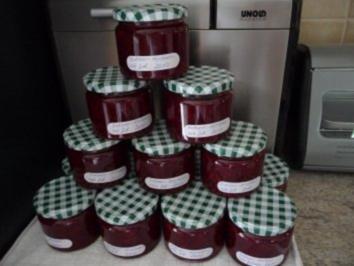 Marmelade: Erdbeer-Himbbeere-rote Johannisbeere - Rezept