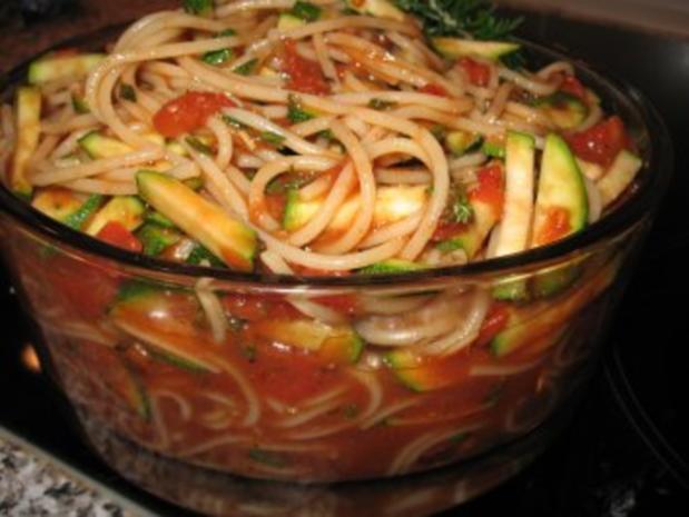Spaghettisalat - Rezept - Bild Nr. 2