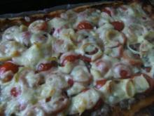 Pizza  Ruck Zuck zubereitet - Rezept