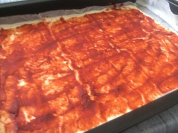 Pizza  Ruck Zuck zubereitet - Rezept - Bild Nr. 3
