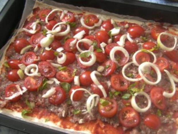 Pizza  Ruck Zuck zubereitet - Rezept - Bild Nr. 5