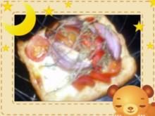 Zwiebel-Mozzarella-Törtchen - Rezept