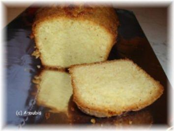 Kuchen/Gebäck - Sandkuchen - Rezept