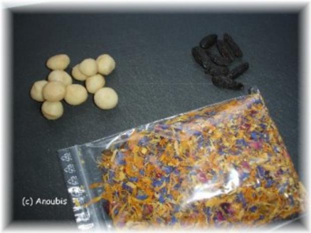 Nascherei - Schokolade mit Tonkabohne und Macadamia - Rezept - Bild Nr. 2