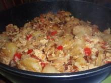 Deftiges: Kartoffelpfanne - Rezept