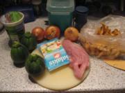 Geflügel-Hühnchen liebt Schafskäse - Rezept