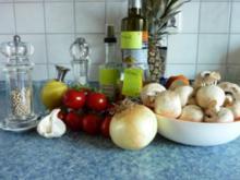 Champignon-Salat mit Tomaten - Rezept
