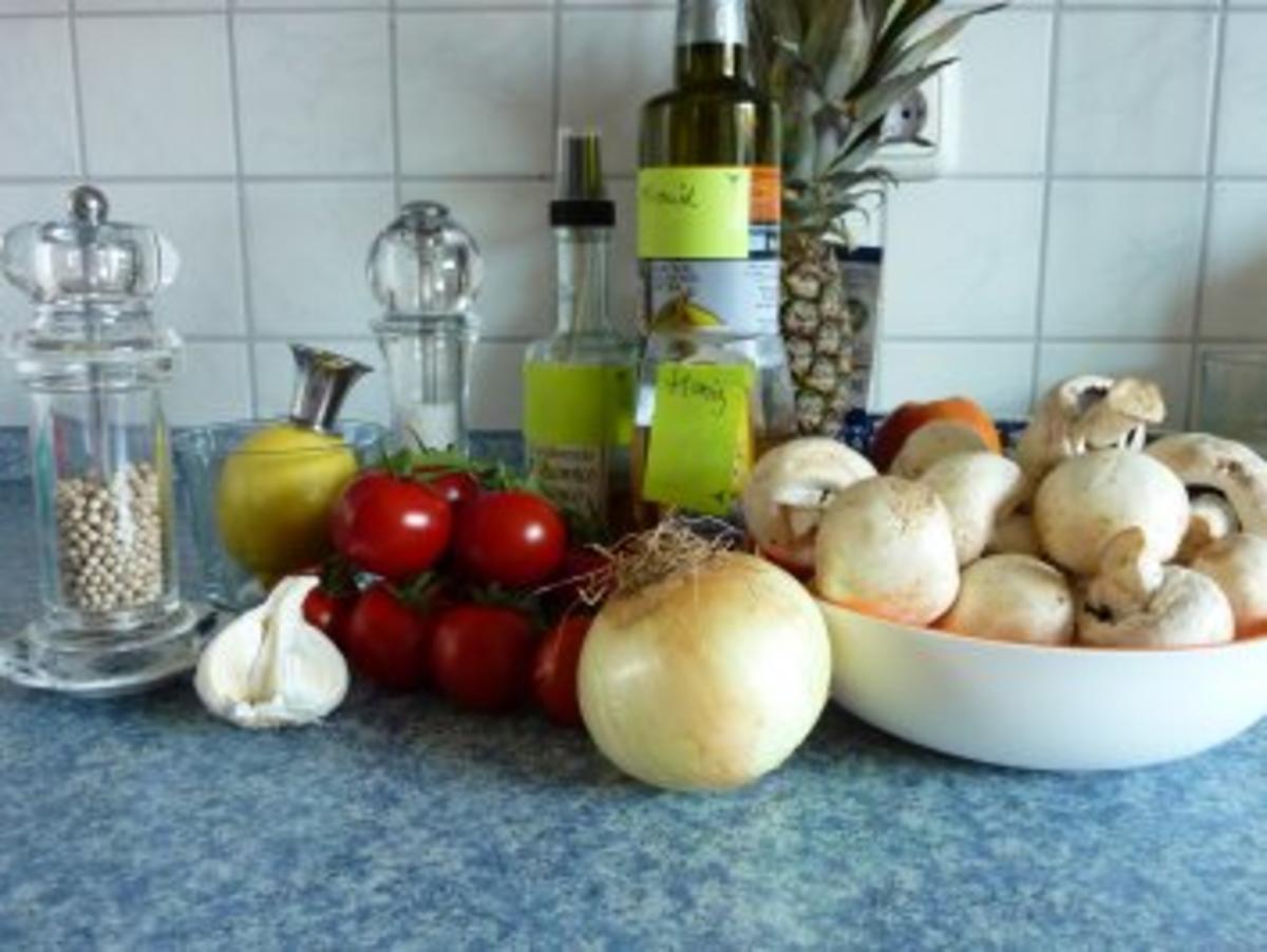 Champignon-Salat mit Tomaten - Rezept Von Einsendungen Sharly