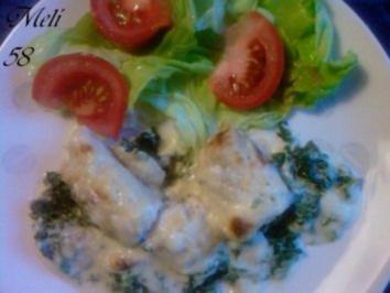 Fisch: Seezunge Florentiner Art - Rezept