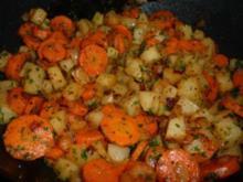Kohlrabi-Möhren-Gemüse - Rezept