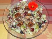 Melonensalat mit Himbeerdressing - Rezept