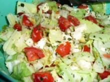 Mozzarella-Tomaten-Salat - Rezept