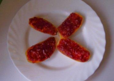 Zwischensnack: Tomatige Ofen-Kartoffeln - Rezept
