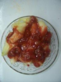Melonensalat fruchtig-scharf - Rezept