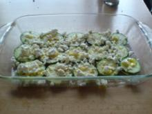 Zucchini überbacken - Rezept