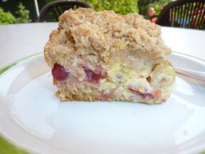 Kuchen: Streuselkuchen mit Stachelbeeren - Rezept