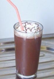 Getränk: Schoko-Eis-Drink - Rezept