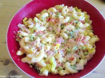 Nudel-Curry-Salat - Rezept