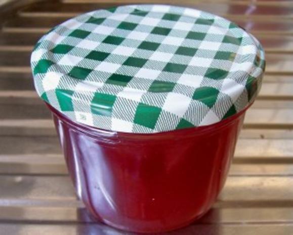 Einmachen: Roter Johannisbeergelee - Rezept - Bild Nr. 2