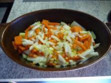 Aufläufe : Kohlrabi - Möhren - Kartoffel - Auflauf - Rezept