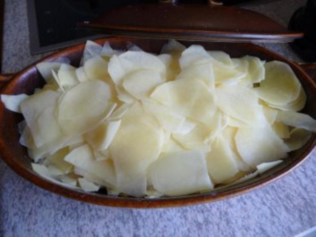 Aufläufe : Kohlrabi - Möhren - Kartoffel - Auflauf - Rezept - Bild Nr. 2
