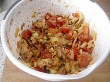 Salat aus Geflügelresten mit ein Hauch von Frühling - Rezept
