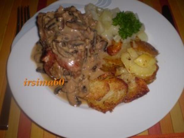 Schweinerouladen mit feiner Pilzfüllung - Rezept