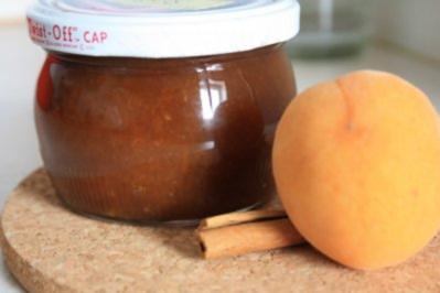 Aufstrich, süß: Aprikosenhonig mit Zimt - Rezept
