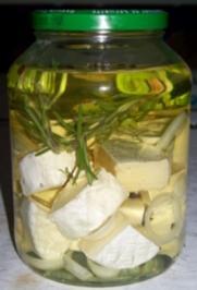 Eingelegte Camemberts - Rezept