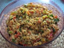 Bulgur-Gemüsesalat - Rezept