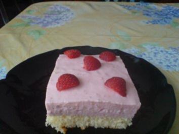 Erdbeer-Quark-Schnitten - Rezept