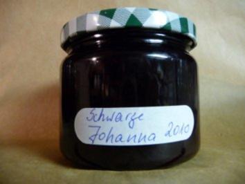 Marmelade: Schwarze Johannisbeere - Rezept
