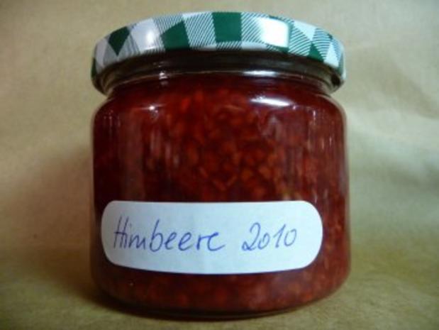 Marmelade: Himbeere - Rezept