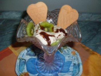 Eis- Kiwi-Banane-Traubensaft - Rezept