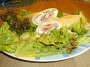Pfannkuchen mit Lachs - Rezept