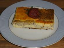 Mohn-Käsekuchen - Rezept