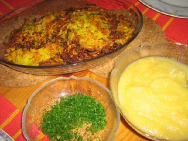 Kartoffel-Karotten-Puffer mit Apfelmus - Rezept - Bild Nr. 7