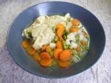 Suppen - Schnelle Maultaschen in Gemüsebrühe - Rezept
