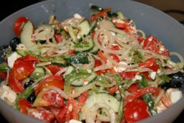 Vorspeise: Griechischer Sommer-Salat - Rezept - Bild Nr. 6